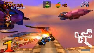 crash team racing all boss races