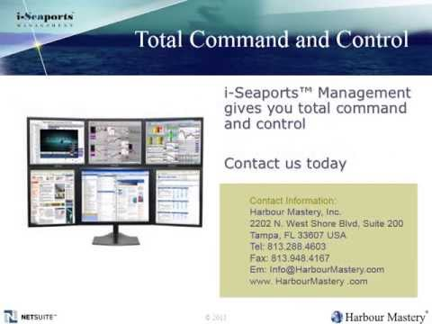 Harbour Mastery i-Seaports Overview