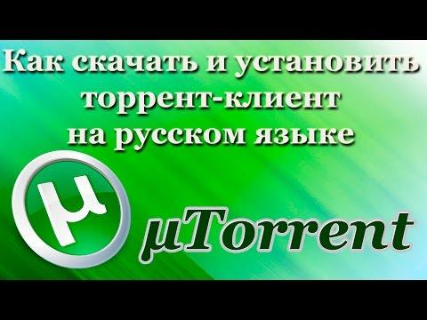 Как скачать и установить торрент-клиент на русском языке (2017)