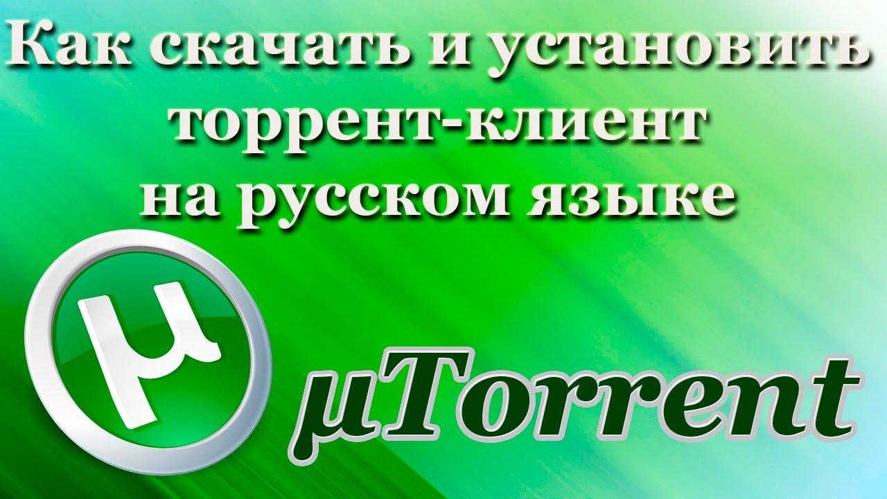 Программа для скачивания через торрент utorrent закачки.