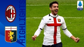 Milan 1-2 Genoa | Il Genoa vince con Pandev e Cassata | Serie A TIM