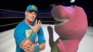 John Cena Vs Barney The Dinosaur