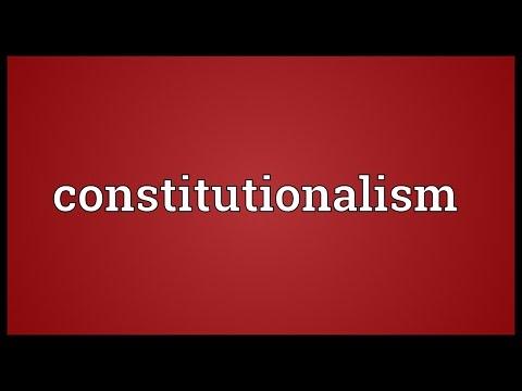 Header of constitutionalism