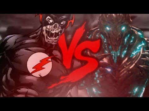Confronto das Lendas  - Black Flash vs Savitar