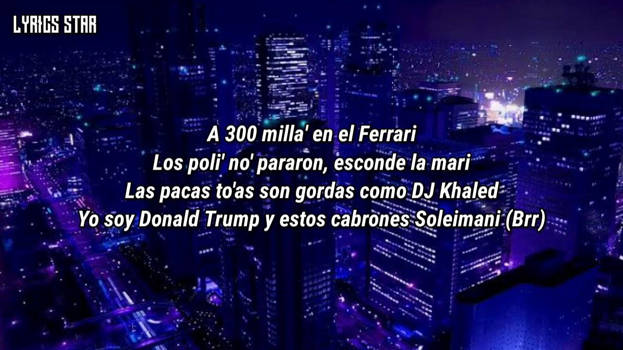 Ferrari Anuel Aa Ft Lil Wayne Letra Sub Español Youtube