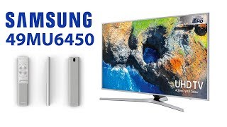 Обзор 4К ТВ от Samsung серии MU6400 на примере 49mu6450   mu6450 49mu6400 55mu6450 55mu6400 40mu6450