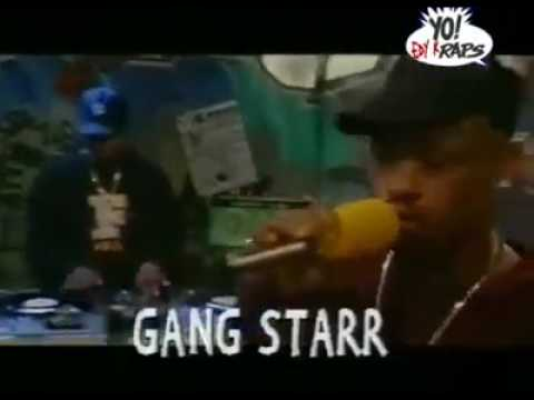 Gangstarr  Mass appeal freestyle MTV Yo Raps