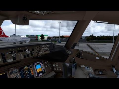 [P3Dv3.4] EK123 / DXB-IST / Boeing B-777-300ER