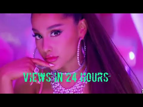 top 30 most viewed music videos in 24 hours