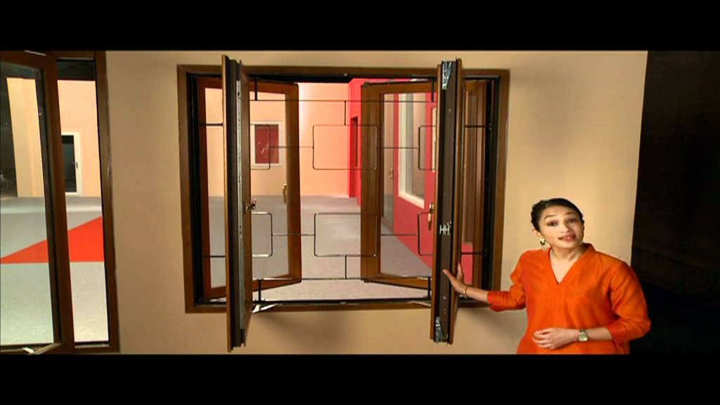 Windows with security grills for your homes safety for Window design for house in india