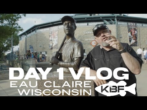 Fishing Eau Claire, Wisconsin | DAY 1 VLOG | The DIZZY BAT