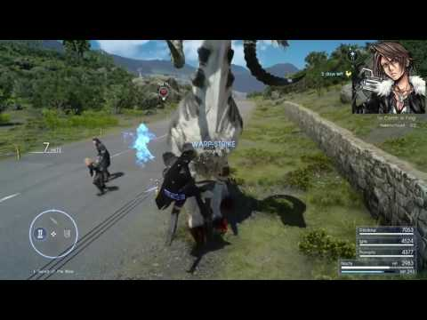 Final Fantasy XV Funny Glitches/Bugs