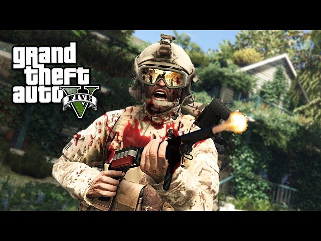 Gta Zombie Attack Part 1