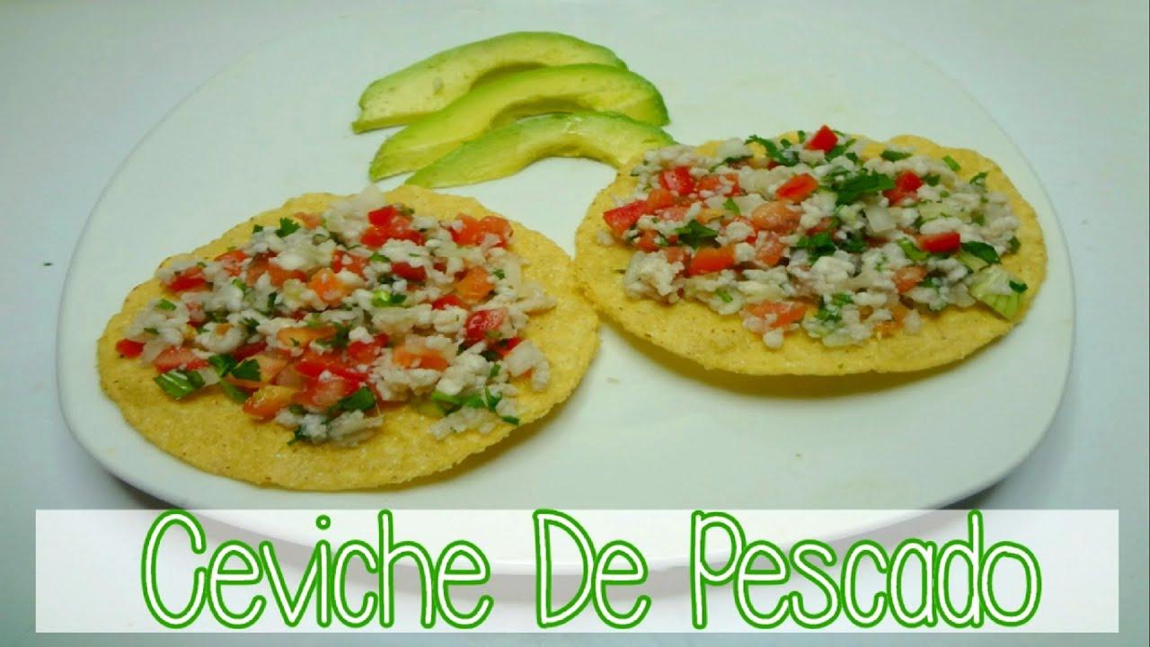 CEVICHE DE PESCADO (receta - comida sana - facil) | Mirem Itziar ...
