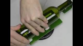 Making crafts from glass bottles  Membuat kerajinan dari botol kaca