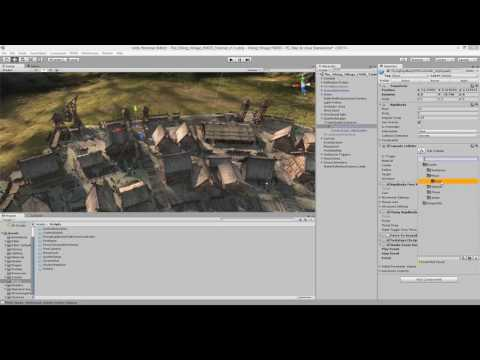 Audio for Unity 5: Viking Village (4/5) - Footsteps and Music