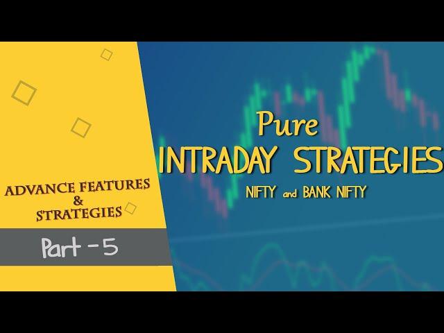 Pure Intraday Trading Strategies | Webinar by Bipin Pohanikar | Spider Software