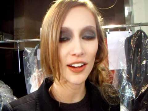 Top Model Alana Zimmer talks with www.fashion-chemistry.com