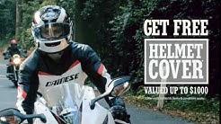 """Swann Insurance - get free helmet cover! TVC 15"""""""