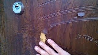 як зробити дверцята з панелей пвх