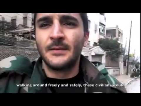 Syrian Soldier Talks About His Oath to Syria
