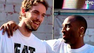 KOBE BRYANT Y PAUL GASOL: Una amistad más allá de las canchas