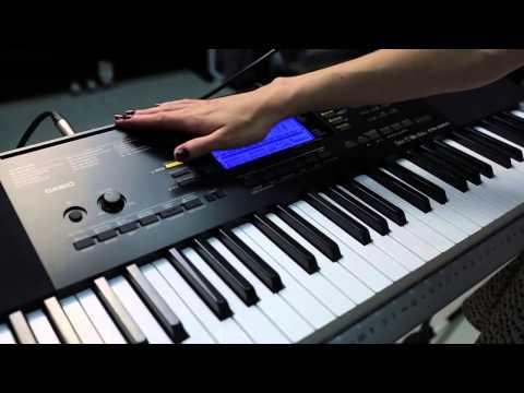 Demo Casio CTK 4400 HD