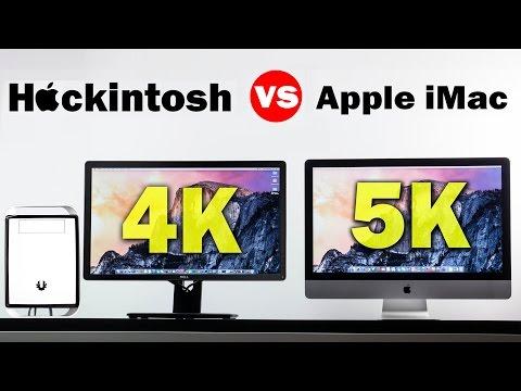 "5K 27"" iMac Vs 4K Hackintosh Comparison"