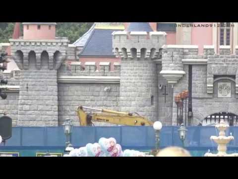 180325 Castle Transformation Construction Update at Hong Kong Disneyland丨香港迪士尼樂園城堡擴建工程狀況更新