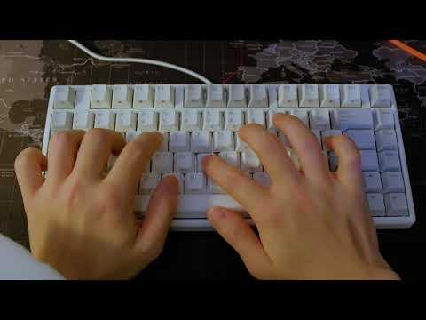 NIZ Plum Micro 82 - Typing Sound Test (2019)