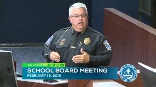 Sarasota County Schools Board Meeting  2 19 2019