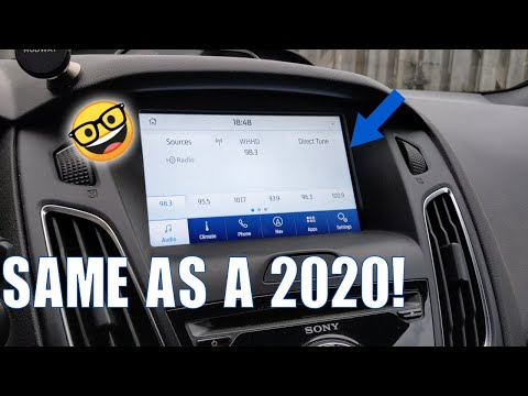 How To: Update To Sync 3.4 On My 2016 Ford Focus ST!