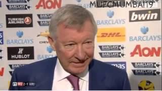 Sir Alex's Post Match Interview | #MUFC 2-1 #AFC (3/11/2012)