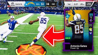 I spent a million on coins on 99 OVERALL Antonio Gates...IT WAS WORTH IT!  - Madden 20 Ultimate Team