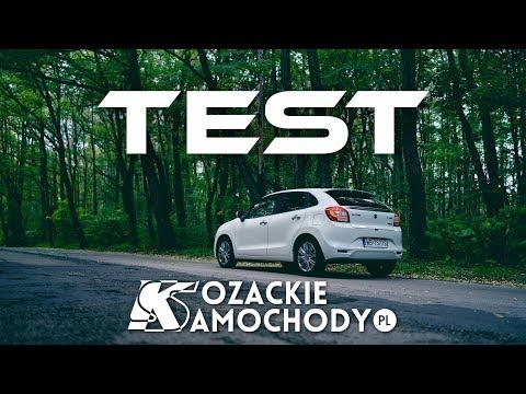 Suzuki Baleno - Test KozackieSamochody.pl