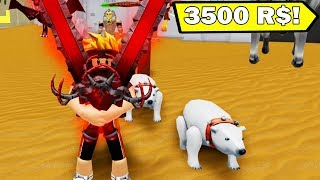 WHOLE WARRIOR SIMULATOR IN A WHILE! -ROBLOX