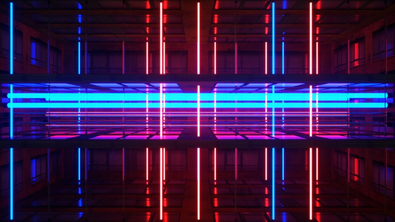 Ghost House Wallpaper Hd 3d Neon Rooms Vj Loops Pack By Ghosteam Youtube