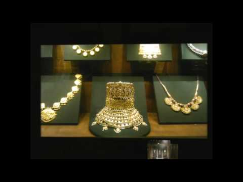 Diamond and gold jewellery of ancient Mughal queens