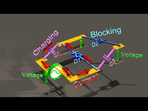 Voltage multiplier: Generating over 100,000 volts DC