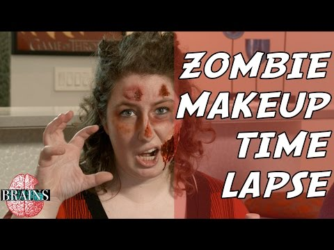 Zombie Makeup Time