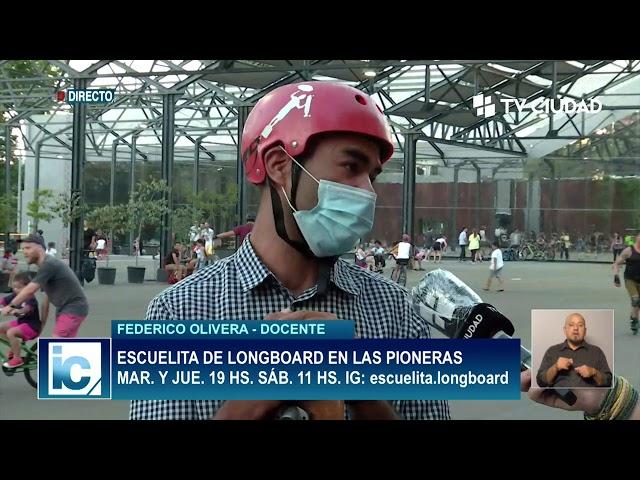 Informe Capital | Entrevista a Federico Olivera - Escuelita de longboard