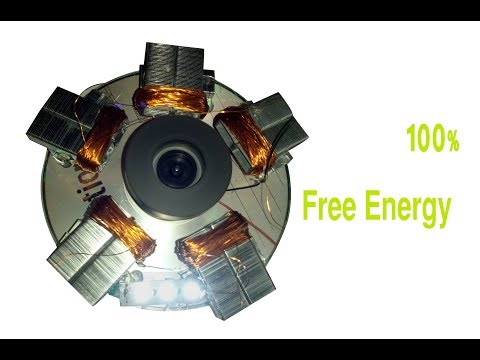 Free Energy coil Generator | free light energy | energy source | infinite energy idea | new 2018