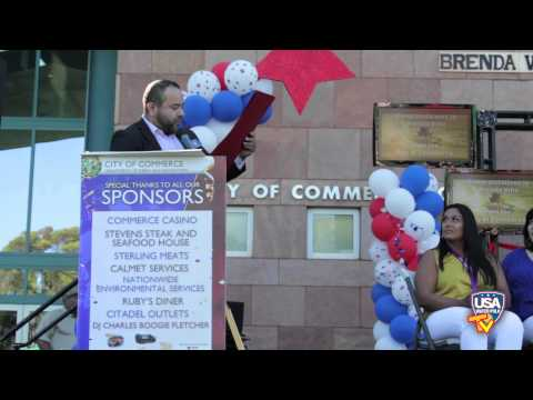 Commerce Honors Gold Medalist Brenda Villa