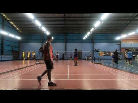 Badminton 2018 Dual meet ACN vs Globe Game 1 (part2)