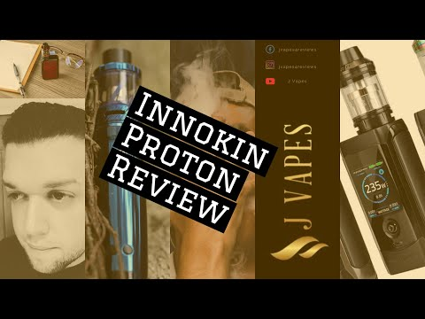 Innokin Proton with Scion Tank + Coil Review! Must watch