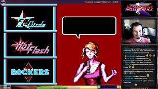 Rollergames | DJ Boy прохождение 100% | Игра на (Dendy, Nes, Famicom, 8 bit) 1992 Стрим HD [RUS]