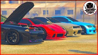 Is this a CAR MEET? Grand Theft Auto Online Role Play PS4