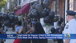 Vigil Held For Rapper Bankroll Gambino Killed In Southwest Philadelphia Shooting