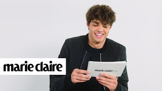 Noah Centineo Reads Your Love Letters | Marie Claire