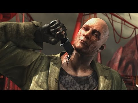 Mortal Kombat X - Jason Voorhees NO MASK Intro, X Ray, Victory Pose, All Fatalities/Brutalities